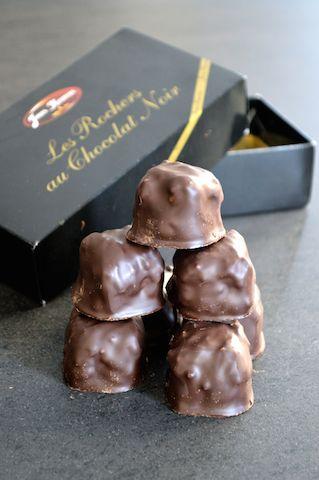rochers+chocolat+noir
