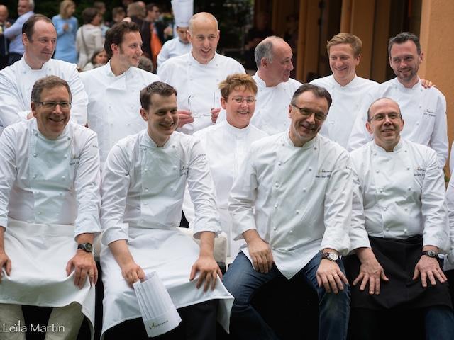 les chefs des Etoiles d'Alsace
