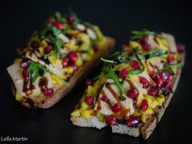 Une recette de tartine de foie gras festive et gourmande pour la Saint-Valentin