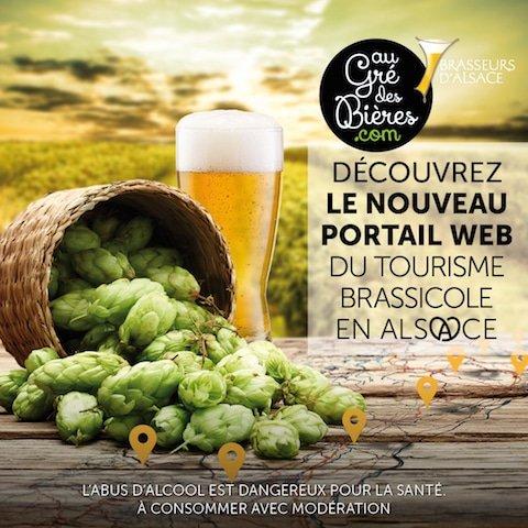 Un site pour le tourisme brassicole en Alsace