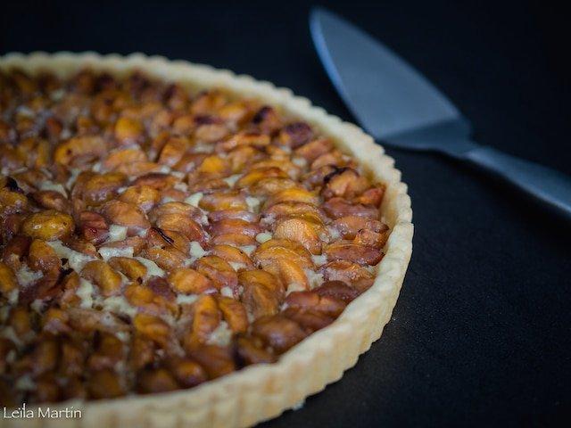 recette de tarte alsacienne aux mirabelles (avec du flan)