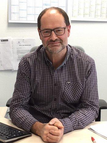 Christophe Geiger, directeur commercial Thierry Schweitzer Sobovia