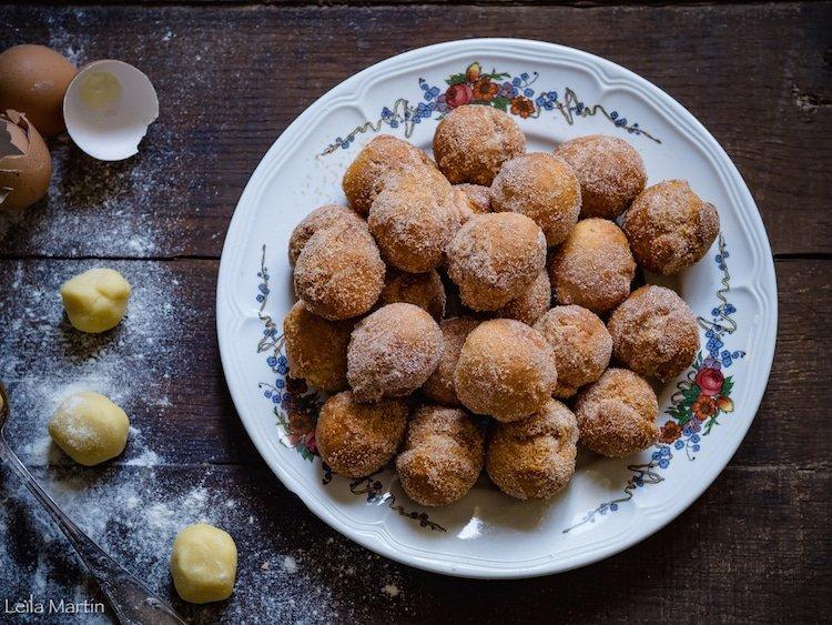 recette de beignets alsaciens à la cuillère (leffelkiechle) express