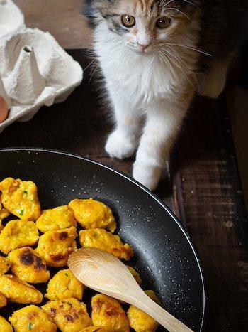 recette de knepfle de potimarron (gnocchi alsaciens)