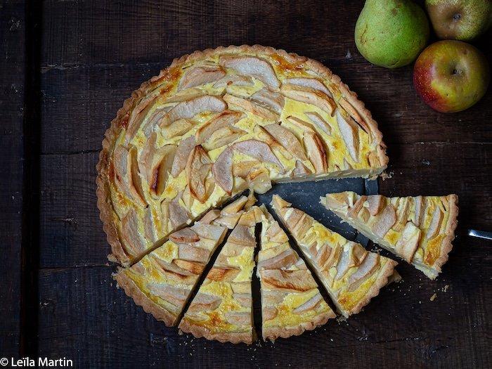Recette de tarte alsacienne aux pommes et aux poires
