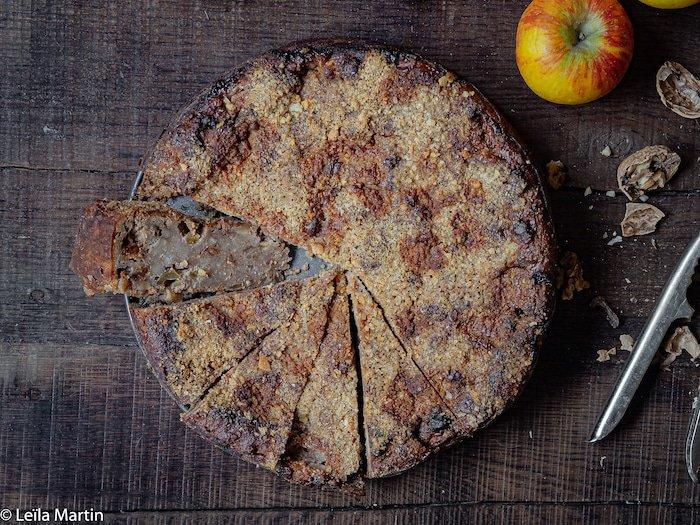 Recette de mendiant alsacien (Bettelmann) aux pommes et aux noix