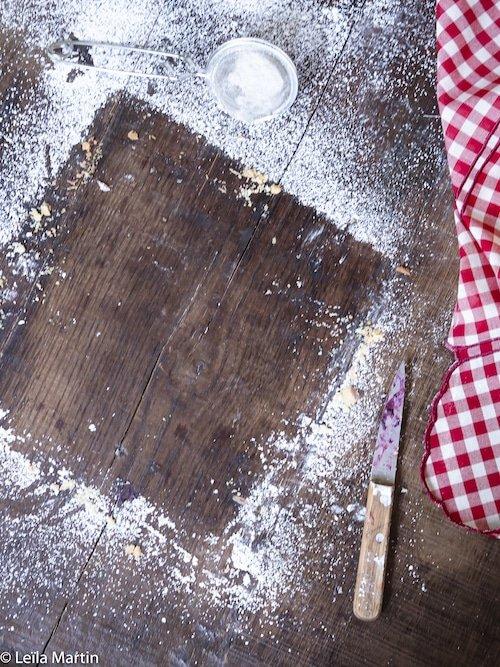 recette de tarte streusel aux fruits rouges (avec la pâte sucrée de Pierre Hermé)